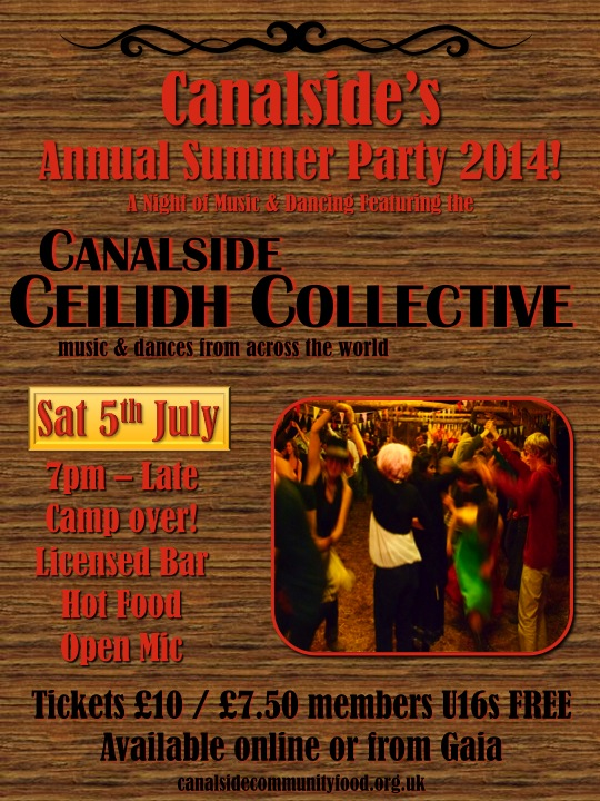 2014 summer party poster - v2